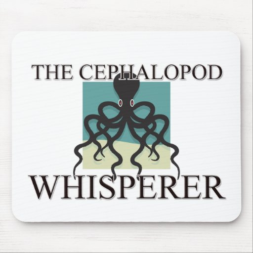 The Cephalopod Whisperer Mouse Pad
