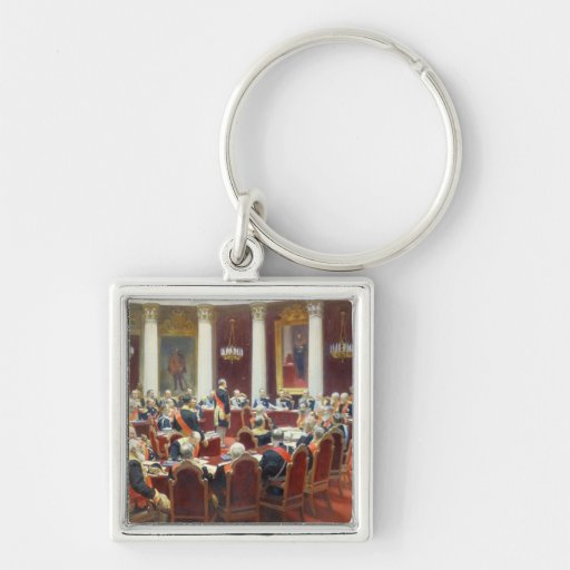 The Ceremonial Sitting of the State Council Keychain