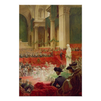 The Ceremony at the Pantheon Poster
