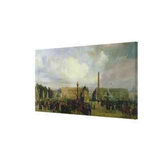 The Ceremony for the Return of Napoleon's Ashes Canvas Print