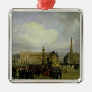 The Ceremony for the Return of Napoleon's Ashes Metal Ornament