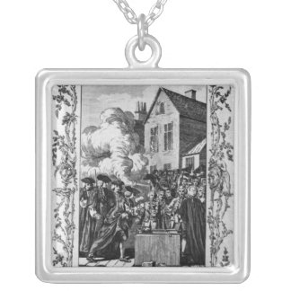 The Ceremony of Laying Silver Plated Necklace