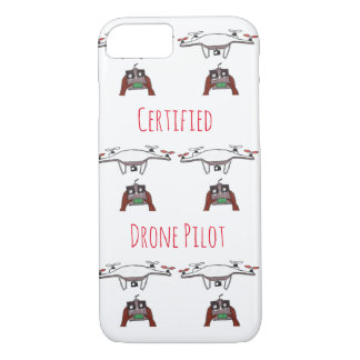 The certified drone pilot iPhone 7 case