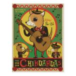 The Cha Cha Chihuahuas Postcard