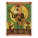 The Cha Cha Chihuahuas Postcard