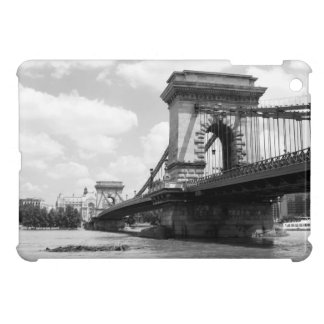 The Chain Bridge over the Danube River in Budapest iPad Mini Case