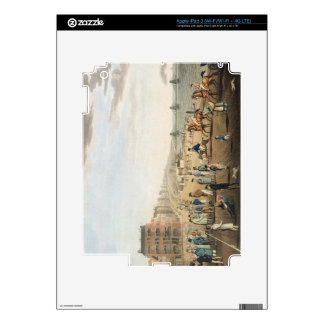 The Chain Pier at Brighton with Characters (etchin Decal For iPad 3