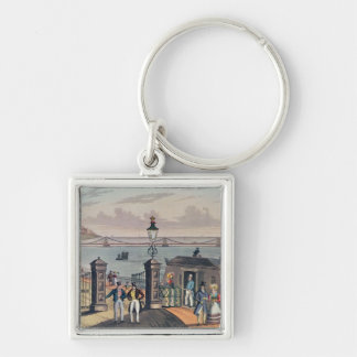 The Chain Pier on the front at Brighton Key Chain