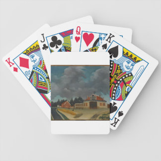 The chair factory at Alfortville by Henri Rousseau Bicycle Playing Cards
