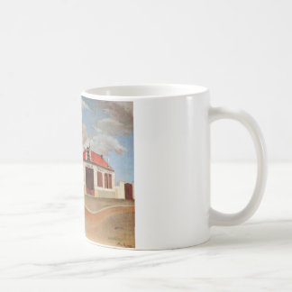 The chair factory at Alfortville by Henri Rousseau Coffee Mug