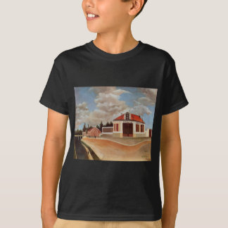 The chair factory at Alfortville by Henri Rousseau T-Shirt