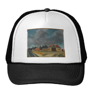The chair factory at Alfortville by Henri Rousseau Trucker Hat