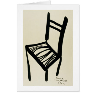 The Chair-Notecard Stationery Note Card