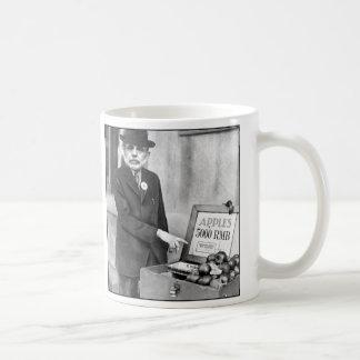 The Chairsatan and the Apple Cart Coffee Mug