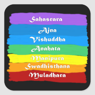 The Chakra Rainbow Stickers