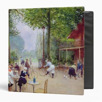 The Chalet du Cycle in the Bois de Boulogne Vinyl Binders