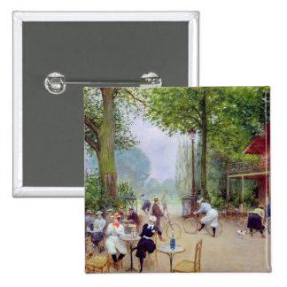 The Chalet du Cycle in the Bois de Boulogne Pinback Buttons