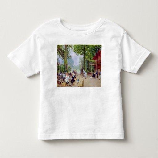 The Chalet du Cycle in the Bois de Boulogne T Shirt