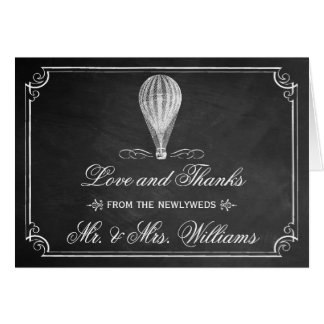 The Chalkboard Hot Air Balloon Wedding Collection