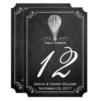 The Chalkboard Hot Air Balloon Wedding Collection Invitation