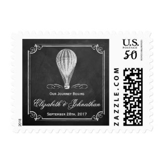 The Chalkboard Hot Air Balloon Wedding Collection Postage