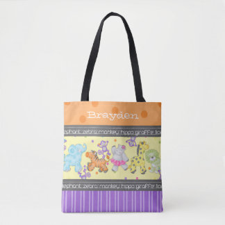 """The Chalkboard Jungle"" Personalized Diaper Bag"
