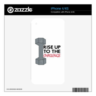 The Challenge Decals For The iPhone 4S
