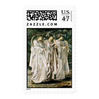 The Challenge in the Desert Postage Stamp