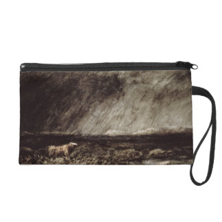 The Challenge on the Moors, near Bettws-y-Coed, No Wristlet Purse
