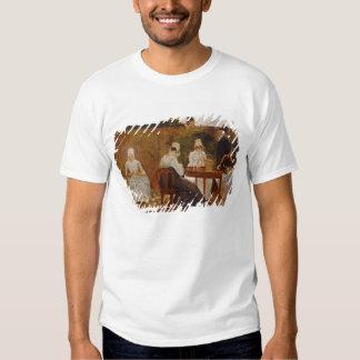 The Chalon Family in their London Town Garden, ear T-Shirt