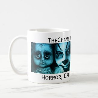 The Chamber Magazine Clowns and Dolls Mug