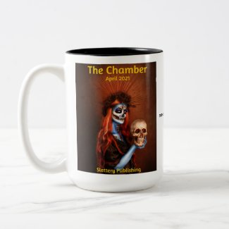The Chamber Magazine Cover April 2021 Two-Tone Coffee Mug