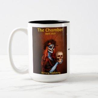 The Chamber Magazine Cover April 2021 Two-Tone Coffee Mug