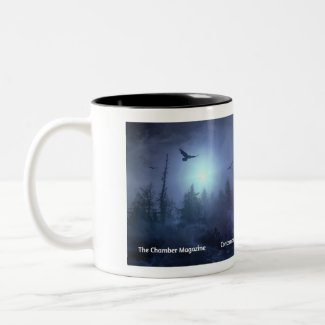 The Chamber Magazine Night Woman Two-Tone Coffee Mug