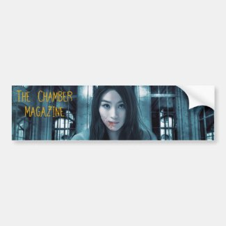 The Chamber Magazine nurse Bumper Sticker