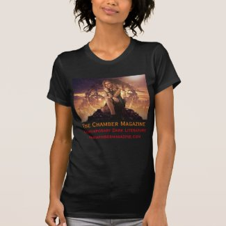 The Chamber Magazine Woman contemplative T-Shirt