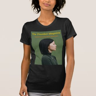 The Chamber Magazine Woman in Green T-Shirt