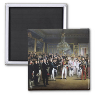 The Chamber of Deputies at the Palais Royal 2 Inch Square Magnet
