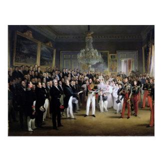 The Chamber of Deputies at the Palais Royal Postcard