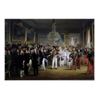 The Chamber of Deputies at the Palais Royal Poster
