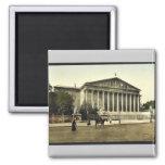 The Chamber of Deputies, Paris, France vintage Pho Fridge Magnet