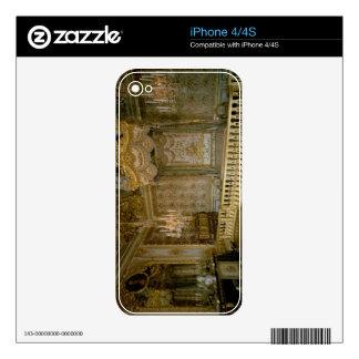 The Chambre de la Reine (Queen's Bedroom) (photo) iPhone 4 Decals
