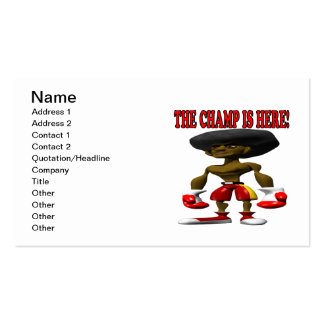 The Champ Is Here 2 Business Card