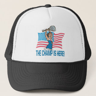 The Champ Is Here Trucker Hat