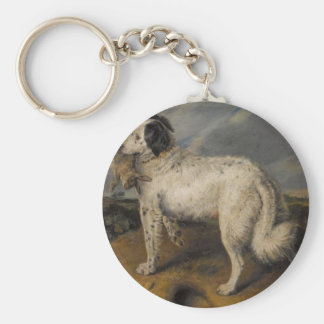 The Champion by Edwin Henry Landseer Keychain