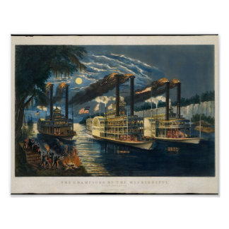 The Champions of the Mississippi –  A Race for the Poster