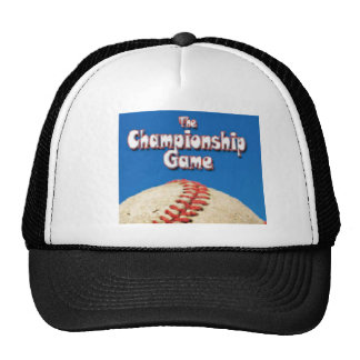 The Championship Game Trucker Hat
