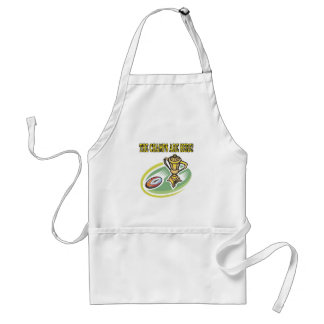 The Champs Are Here Aprons