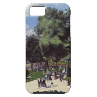 The Champs Elysees during the Paris Fair of 1867 iPhone SE/5/5s Case