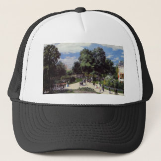 The Champs Elysees during the Paris Fair of 1867 Trucker Hat